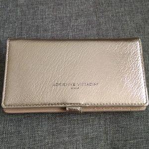 Rose gold charging wallet